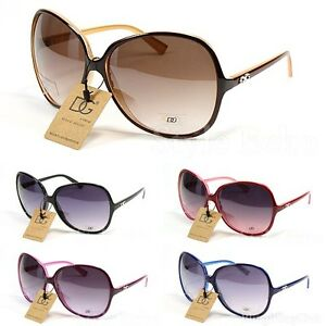New-Retro-Vintage-Shades-Oversized-Womens-Designer-Sunglasses