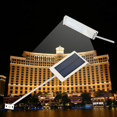 15 LED Waterproof Solar Powered Wall Street Bright Light Outdoor Garden Lamp