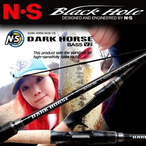 Ns negro Hole Hi sensitivity Bass Fishing rod Dark Horse Bass v2