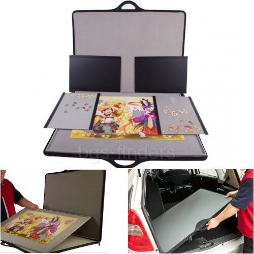 New Storage Puzzle Standard Tray Board Portable Table 1000 Up Pieces Piece Case