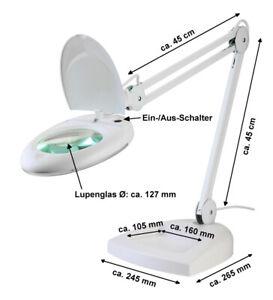 LED-Lupenleuchte-5-Dioptrien-Kaltlicht-Arbeitsleuchte-80-LED-s-Lupenlampe-Lupe