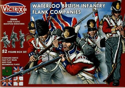 Victrix 28mm Waterloo British Infantry Flank Companies VX0003