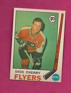 1969-70-OPC-173-FLYERS-DICK-CHERRY-ROOKIE-NRMT-CARD-INV-2451