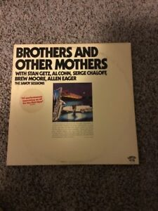 Brothers-And-Other-Mothers-double-LP-1976-Savoy-Stan-Getz-Al-Cohn-NM-Promo