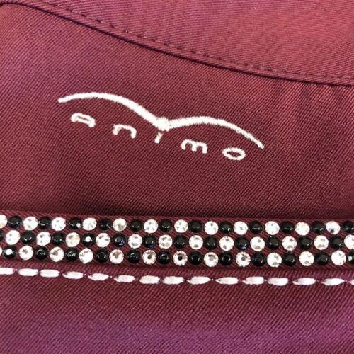 Animo Nesci Full Grip Breeches in Amaranto