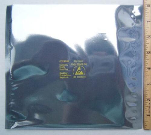 "100 ESD Anti-Static Shielding Bags Open-Top 8/"" x 8/"""