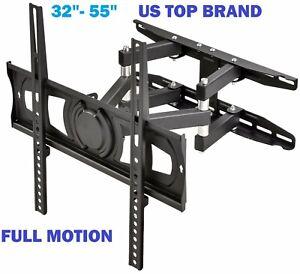 Articulating-Smart-TV-Wall-Mount-Full-Motion-Swivel-Bracket-LCD-LED