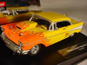 Carrera-Chevrolet-Bel-Air-039-57-Yellow-27259-MB-1-32-slot-car