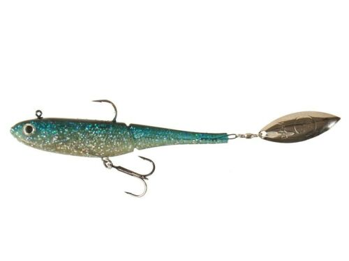 soft baits with inside weight spinner 100mm Effzett Kick-S Minnow D.A.M