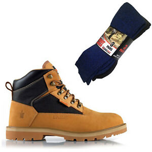 Safety 3 Socks Boots Of Work Hiker Mad4tools Pairs Scruff Twister Tan Boot ORqY5