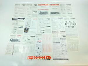 BH851-1 #25x Fleischmann H0 Instructions (3x Locomotives, 22x Accessory