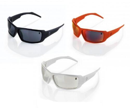SCRUFFS EAGLE SAFETY SPECS GLASSES WHITE ORANGE BLACK FRAME SUNGLASSES