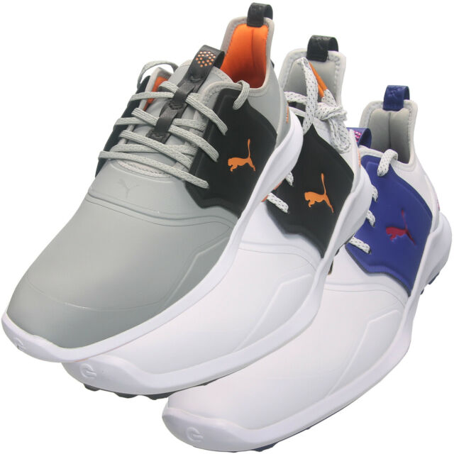 Puma Ignite Spikeless Golf Shoes White Surf The Web Green Gecko 188679 01 8 5 For Sale Online Ebay