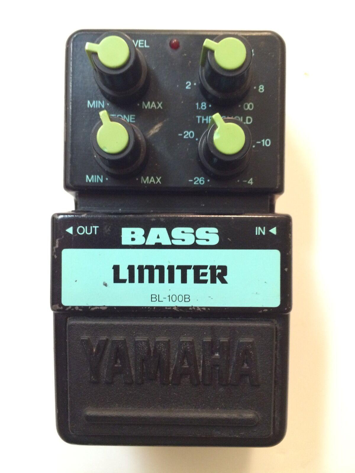 Yamaha BL-100B Bass Limiter Compressor Rare Vintage Guitar Pedal MIJ Japan