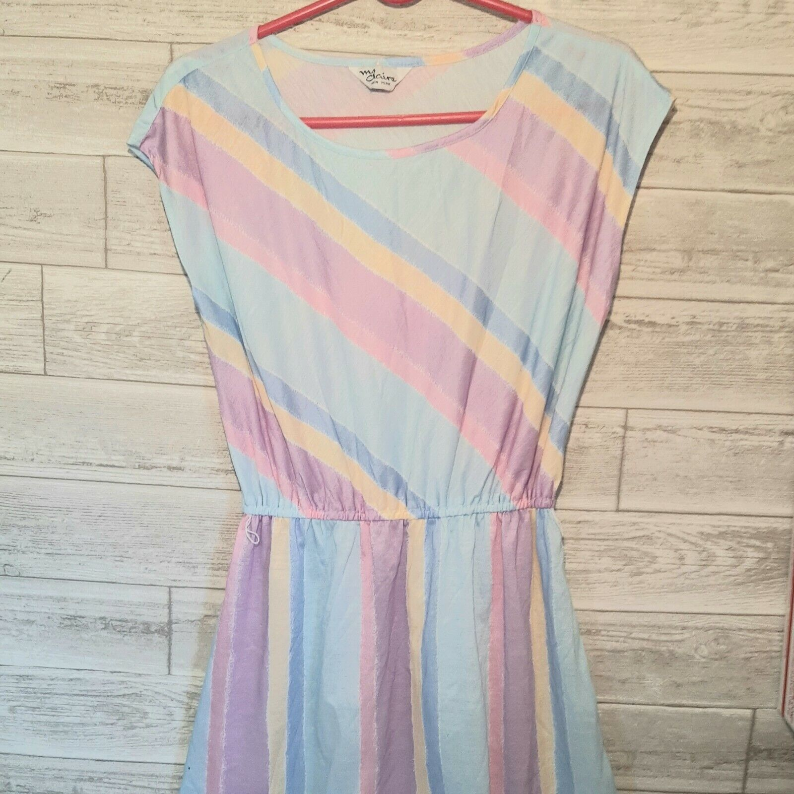 Vintage Ms. Claire New York Sleeveless Easter Dre… - image 3