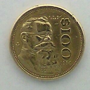 estados unidos mexicanos coin 100
