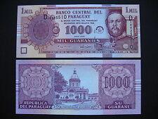 PARAGUAY  1000 Guaraníes 2005  (P222b)  UNC