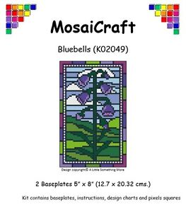 MosaiCraft-Pixel-Craft-Mosaic-Art-Kit-039-Bluebells-039-Spring-Pixelhobby