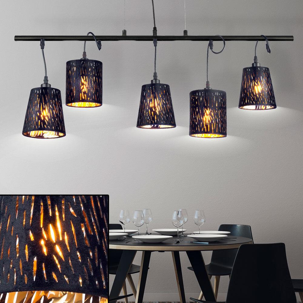 cuisine salle manger à table schwarz-or suspendue lampe ...