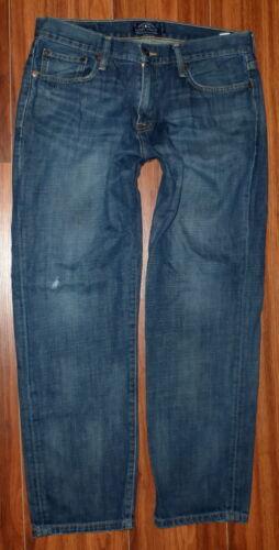 droit Taille Lucky délavé Jeans Jean 34x30 Original Mens 221 Brand XUOdnx88T