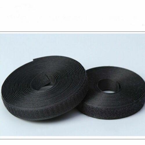 3 M Selbstklebend Klettband Band Zum Aufnähen Basteln Verschluss Streifen Für