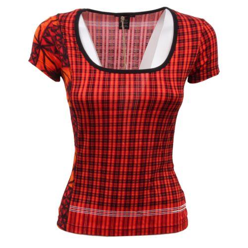 Fit Custo Donna D6034 T shirt Barcelona Maglia Woman Slim wXq6gP