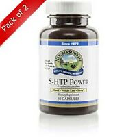 Natures Sunshine 5-htp Power (60 Caps) (pack Of 2)