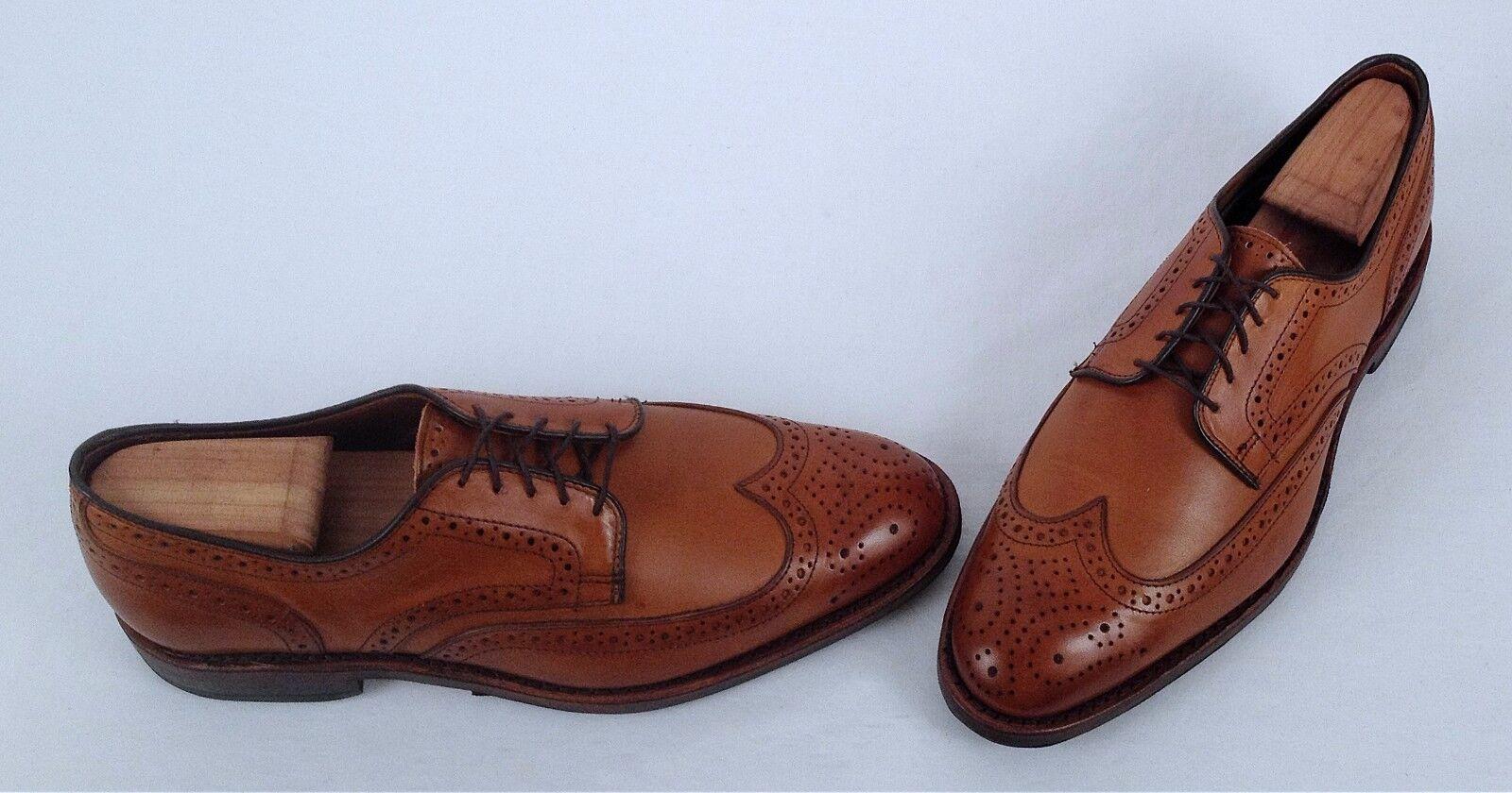 Allen Edmonds 'Player Shoe' Wingtip Oxford - Walnut- Taglia 8 D  395