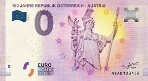 At - 100 Jahre Republik Osterreich - Austria - 2018 Zibymphz-08001609-837999177