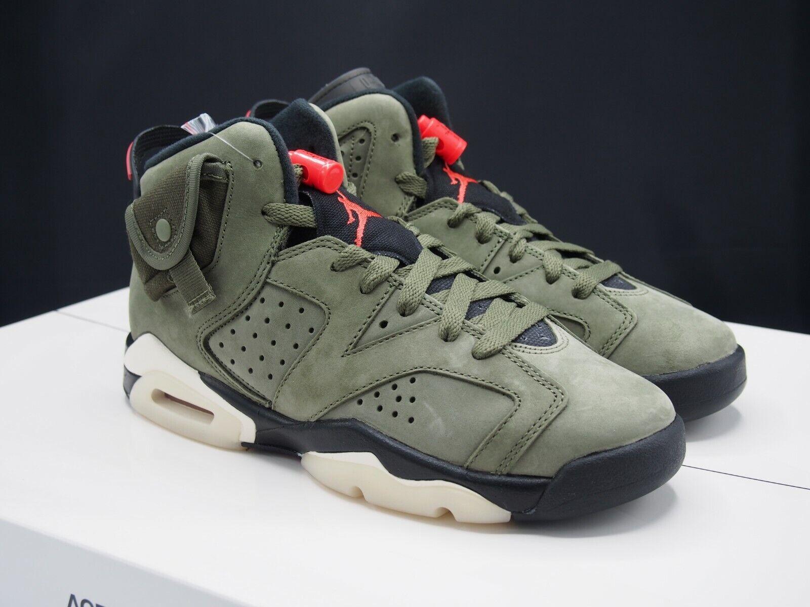 Nike Air Jordan 6 VI Retro GS Travis Scott Cactus Jack DS Cn1085 ...