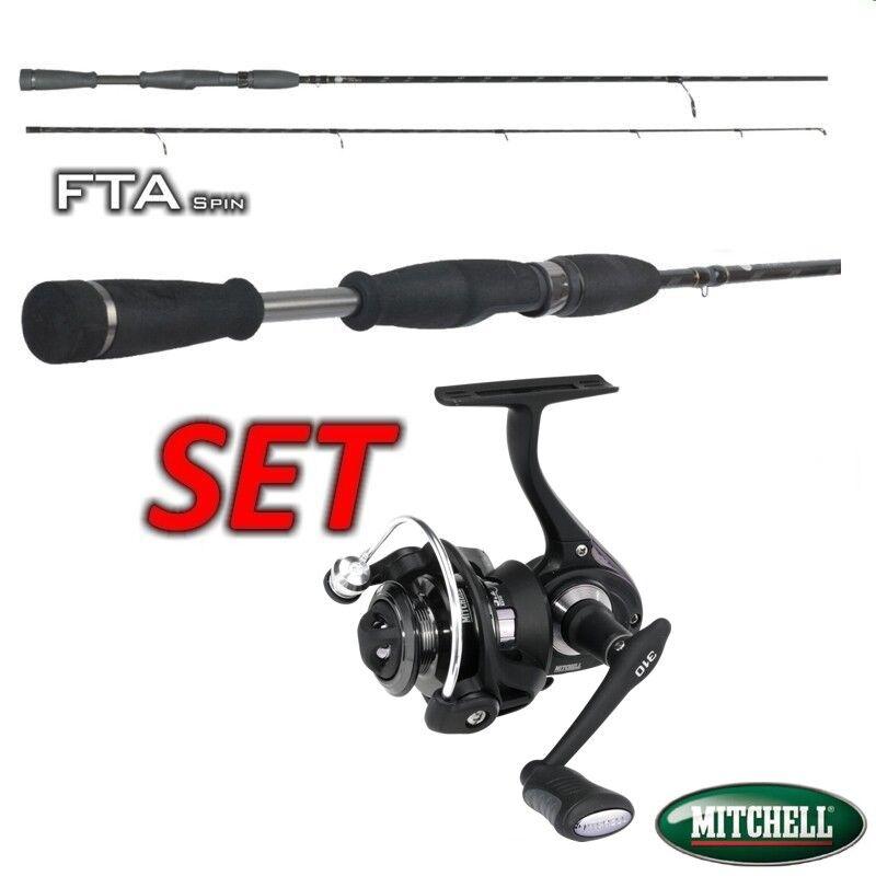 Belly Boat Set Mitchell 310 + FTA Spin