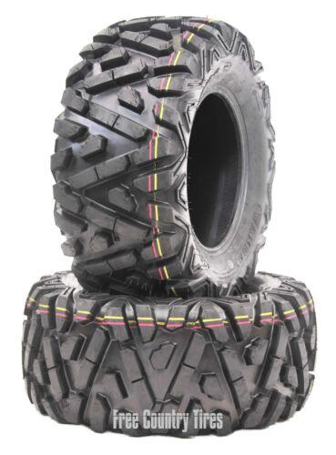 2 WANDA ATV UTV Tires 25x11-10 25X11X10 6PR P350 Bighorn Style All Terrain