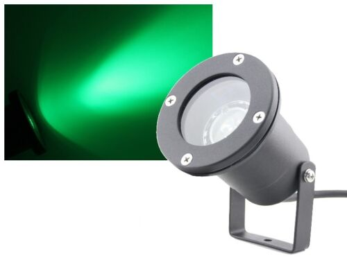 Teichstrahler Unterwasserstrahler 3W Power LED grün wasserdicht IP68 230V