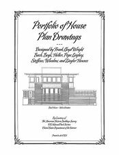 Frank Lloyd Wright Portfolio of House Plan Drawings - Plan Book