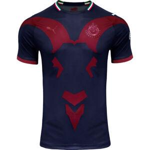 06832256b PUMA Men s Chivas 18 19 Third Jersey Blue Red 70409101