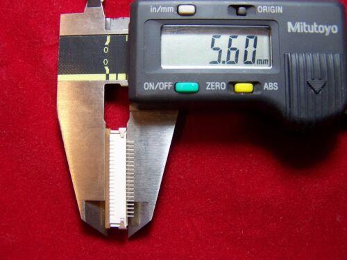 1pc zif  socket 20P  1.0mm  Pitch  FFC//FPC  SMT Molex