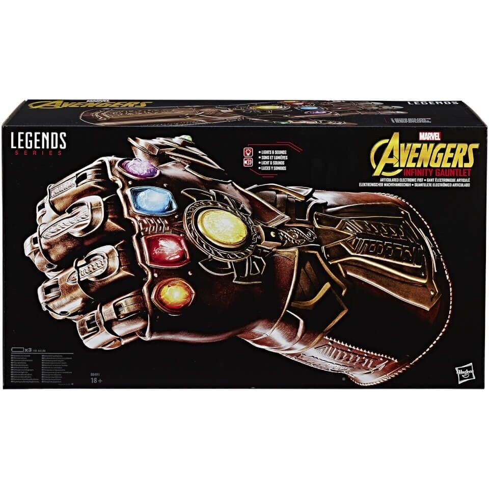 Avengers Infinity War Marvel  Legends REPLICA THANOS INFINITY GAUNTLET NUOVO   qualità autentica