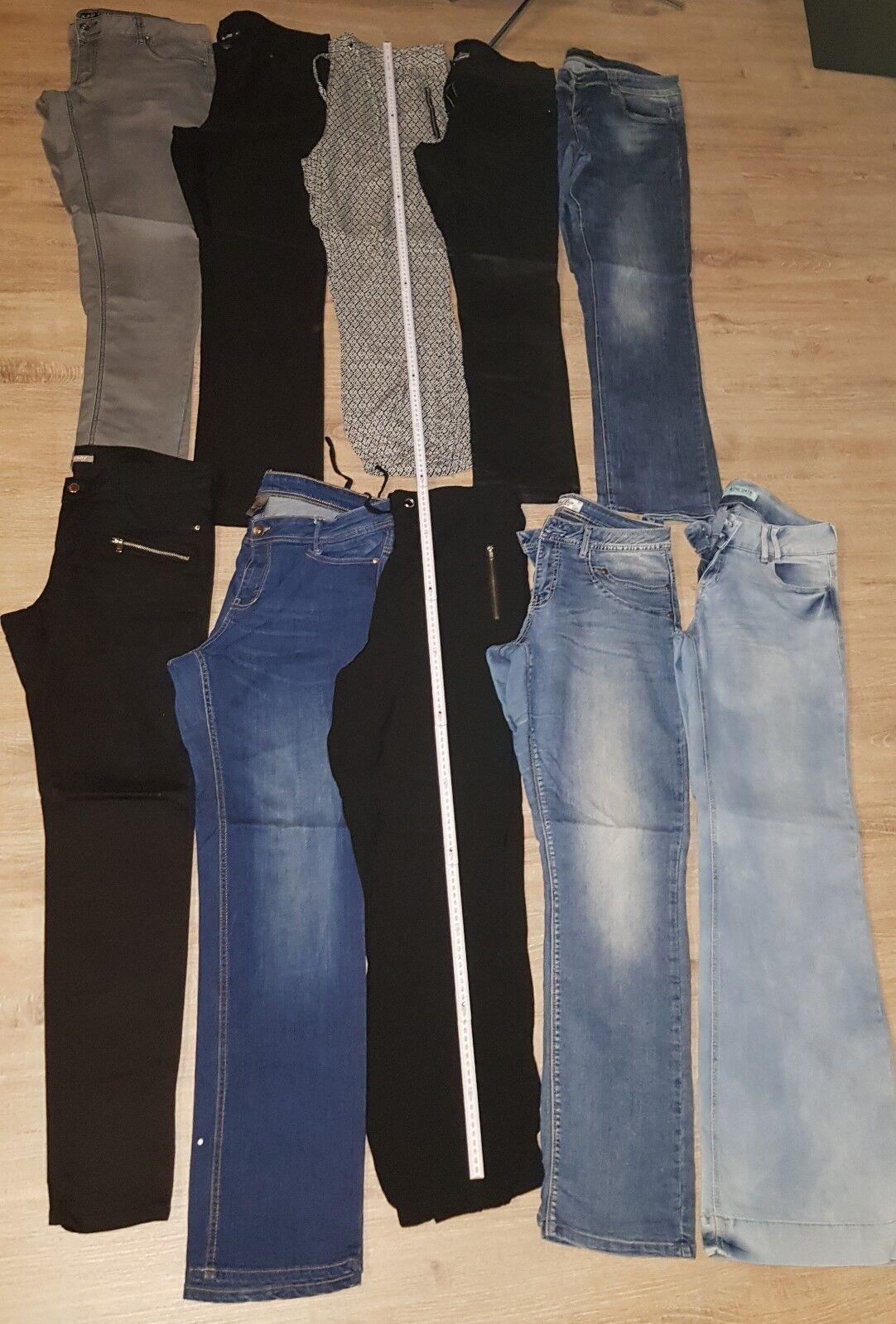 10x Damen Hosen Jeans Sommerhose W33  L32
