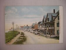 VINTAGE POSTCARD TOWN VIEW ON OCEAN AVE HAMPTON BEACH NEW HAMPSHIRE UNUSED UDB