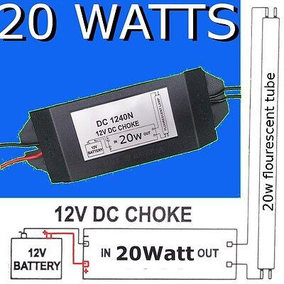 12v DC Fluorescent Light Ballast CHOKE DIY Solar Energy Power Saving  accessories 601629789538 | eBay