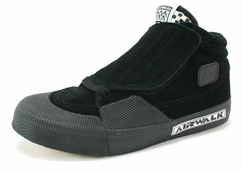 AIRWALK & VIC Negro & AIRWALK Gris Clásico Zapatillas Skate d4bee0