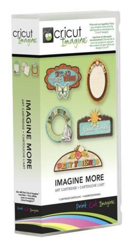 For CRICUT IMAGINE Machines CRICUT Imagine Cartridge /' IMAGINE MORE /'