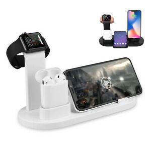 Qi-Wireless-Fast-Charger-Stand-Dock-For-Apple-Watch-Airpods-iPhone-8-X-XS-11-Pro