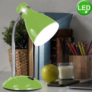 LED Schreib Tisch Klemm Lampe Arbeits Zimmer Lese Strahler Beleuchtung flexibel
