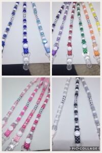 Dummy-Clip-CIips-Strap-Plastic-CIip-Any-Name-No-Metal