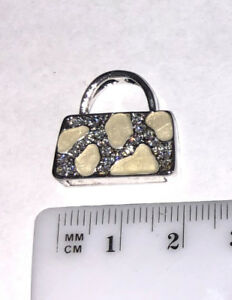 White-Purse-Pendant-with-Crystals-for-Necklace-Stainless-Steel-Jewelry-PUR038