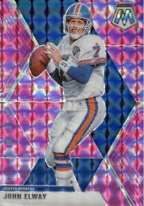 2020 Panini Mosaic Camo Pink Prizm John Elway #67  Denver Broncos