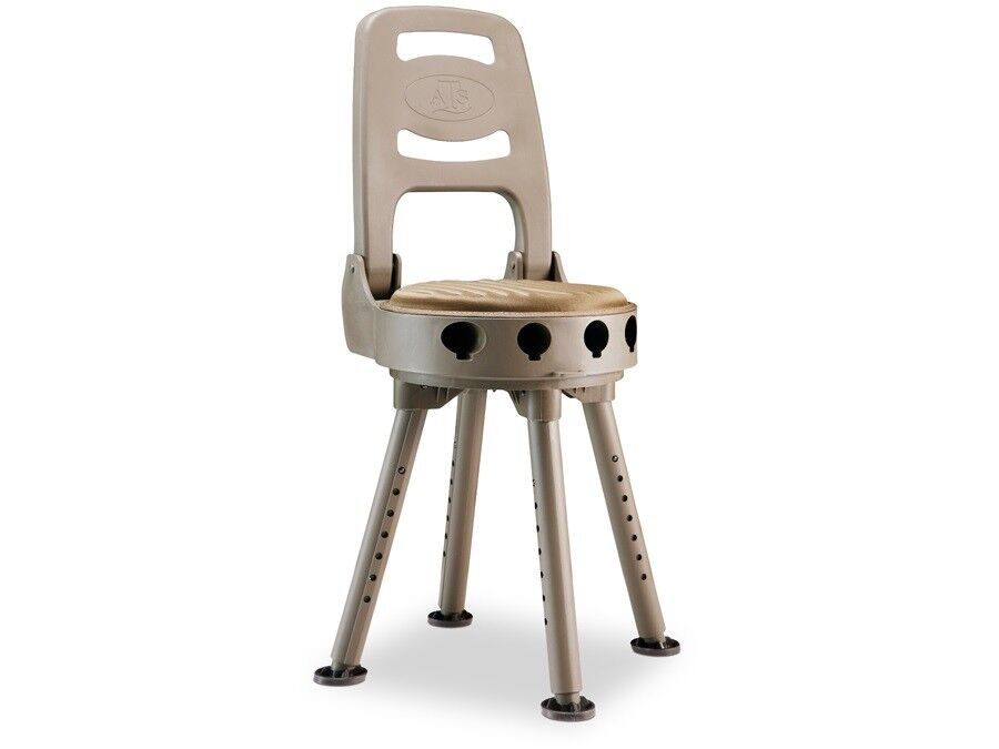 Quake Stag caza silla 360 grados girable con respaldo ansitzstuhl kanzelstuhl