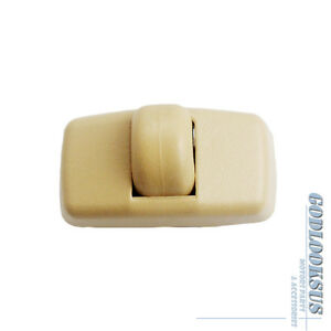 Image Is Loading Sunvisor Clip Hook Beige 3b0857561b New For Vw