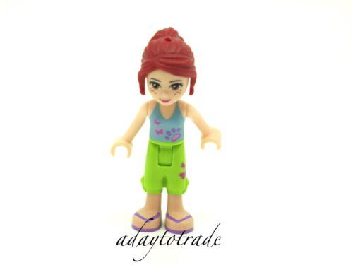 LEGO Friends Mini Figure 3188 3189 30101 30108 11902 FRND016 RBB Mia